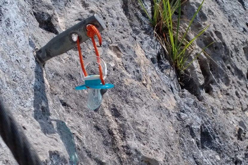 Klettersteig Hohe Wand : Klettersteig geher auf der hohen wand Österreich